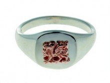 Welsh Dragon Signet Ring SAH14SR